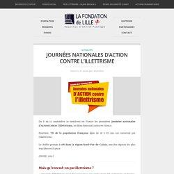 Journées Nationales d'Action Contre l'Illettrisme - Fondation de LilleFondation de Lille
