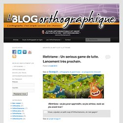 Blog Orthographique