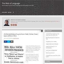 The Web of Language