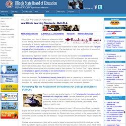 new Illinois Math and ELA Learning Standards