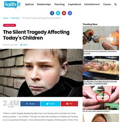 Mental Illness in Kids- The Silent Tragedy Affecting Today's Children