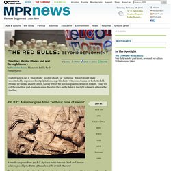 Mental illness and war through history