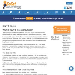Best Injury & Illness Insurance Policy, Australia – Compare Now