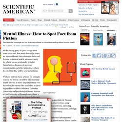 Mental Illness: How to Spot Fact from Fiction