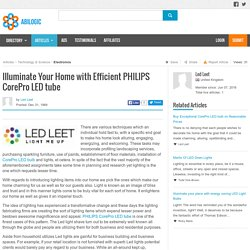 Ledleet: For Glittering PHILIPS CorePro LED tube
