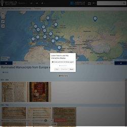 TIMELINE: Illuminated Manuscripts from Europe