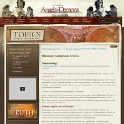 Illuminati Ambigrams Articles - Illuminati Ambigrams : Angels and Demons Truth