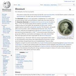 Alleged branch of Illuminati by Alexandra Robbins