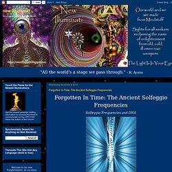 The Ancient Solfeggio Frequencies