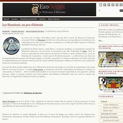 Les Illuminati, un peu d'histoire « Autres Sociétés Secrètes