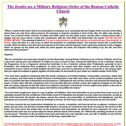 The Jesuit, Illuminati, Knights of Columbus and Masonic Oaths