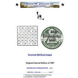 Illuminati 666 - global power elite - secret societies - mystery of iniquity