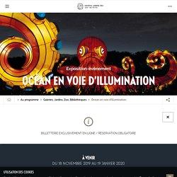 Océan en voie d'illumination - Jardin des Plantes - jusqu'au 19 janvier 2020