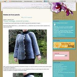 Modèles de tricot gratuits - Illumination - Des flopées de nopes - Journée mondiale du… - Quand une manche se… - l'Irlandais est… - Le pull irlandais… - Victoire sur la… - Veste irlandaise - Sur mes aiguilles - Ancre sympathique ? - Pourquoi tant de laine