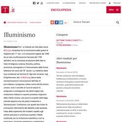 Illuminismo nell'Enciclopedia Treccani