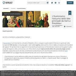 La filosofia dell'Illuminismo: Voltaire, Rousseau, Montesquieu