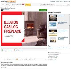 Illusion Gas Log Fireplace