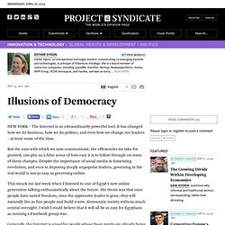 Illusions of Democracy - Esther Dyson