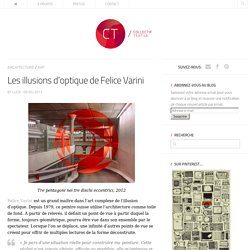 Les illusions d'optique de Felice Varini