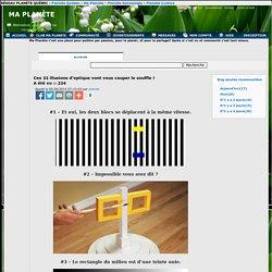 Blogues » Ces 22 illusions d optique vont vous couper le » Ma Planète PPS / DIAPORAMA gratuit a telecharger