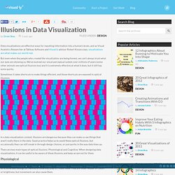 Illusions in Data Visualization