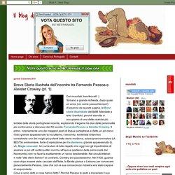 Breve Storia Illustrata dell'incontro tra Fernando Pessoa e Aleister Crowley (pt. 1)