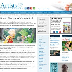 How to Illustrate a Children's Book