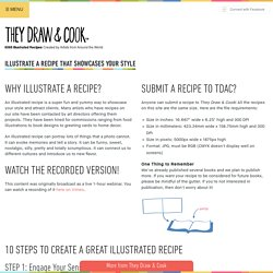 Illustrate a Recipe that Showcases Your Style