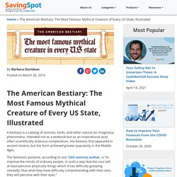 The American Bestiary: The Most Famous Mythical Creature of Every US State, Illustrated - CashNetUSA Blog