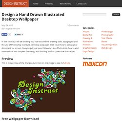 Design a Hand Drawn Illustrated Desktop Wallpaper