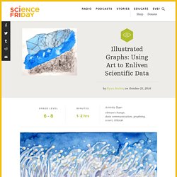 Illustrated Graphs: Using Art to Enliven Scientific Data