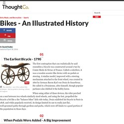 An Illustrated History of the Bicycle