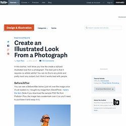 Create an Illustrated Look From a Photograph