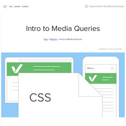 Media Queries: An illustrated introduction