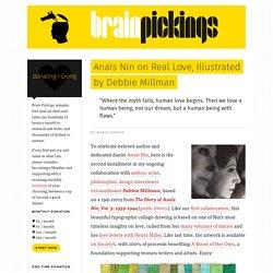 Anaïs Nin on Real Love, Illustrated by Debbie Millman – Brain Pickings