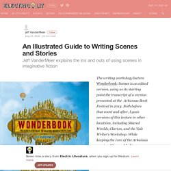 An Illustrated Guide to Writing Scenes and Stories – Electric Literature