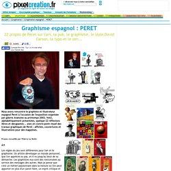CRÉA: PERET, Graphisme espagnol -F