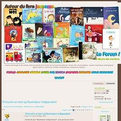 S'inscrire en tant qu'auteur ou illustrateur indépendant