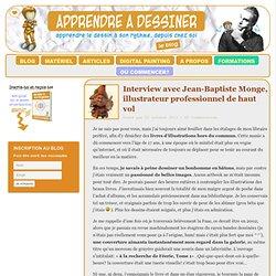 Interview de Jean Baptiste Monge, illustrateur professionnel