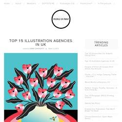 Top 15 Illustration Agencies in UK