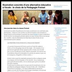Illustration concrète d'une alternative éducative à l'école : le choix de la Pédagogie Freinet