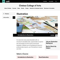 Illustration - Chelsea College of Arts - UAL