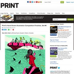 Print's Hand Drawn Illustration Competition Finalists