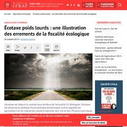 Écotaxe poids lourds : une illustration des errements de la fiscalité écologique
