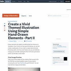 Create a Vivid Themed Illustration Using Simple Hand-Drawn Eleme
