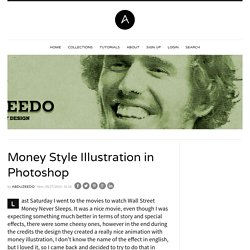 Money Style Illustration in Photoshop