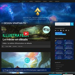 Design Spartan : Art digital, digital painting, webdesign, illustration et inspiration…