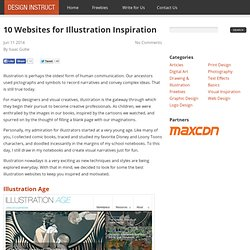 10 Websites for Illustration Inspiration