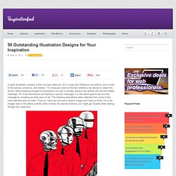50 Outstanding Illustration Designs for Your Inspiration