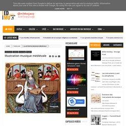 Illustration musique médiévale - éducation musicale — by nikkojazz